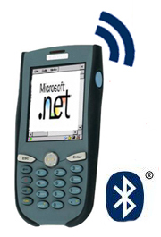 PDA, Bluetooth, Softwareschnittstelle